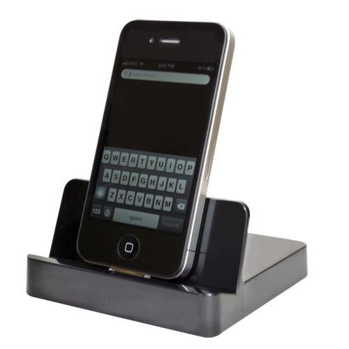 docking station cradle charger for iphone 4 4s ipad mfi certified ebay. Black Bedroom Furniture Sets. Home Design Ideas